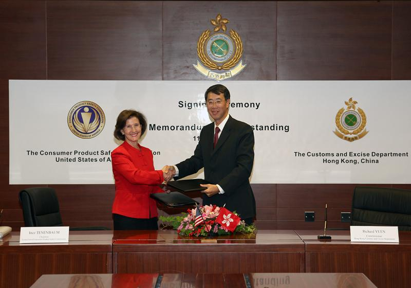 CPSC Chairman Signs Agreements with Australian and Hong Kong Governments to Improve Product Safety