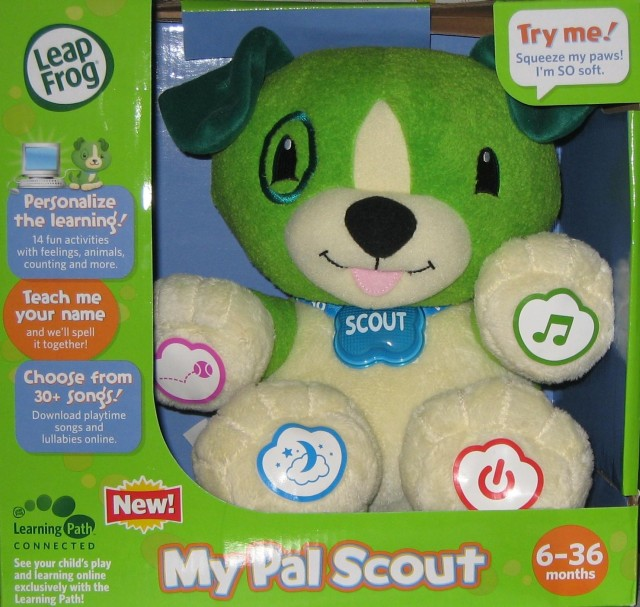 Picture of Recalled Plush Toy Dog