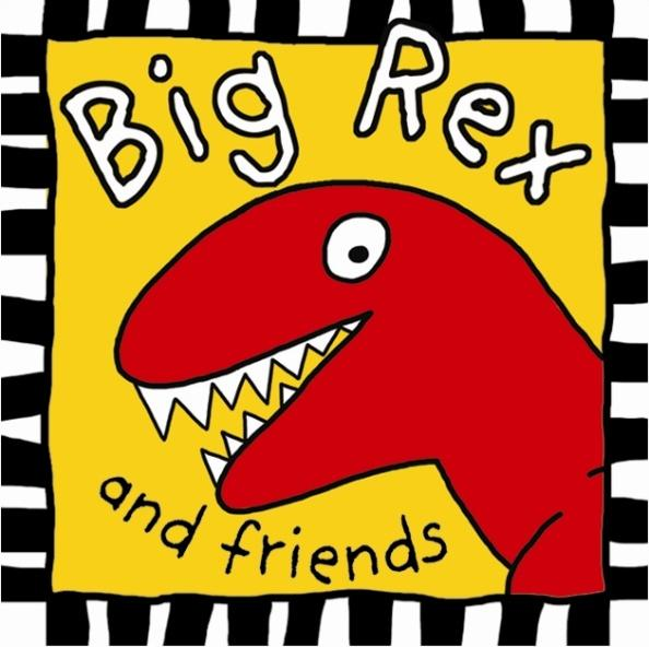Picture of Recalled Big Rex and Friends cloth book