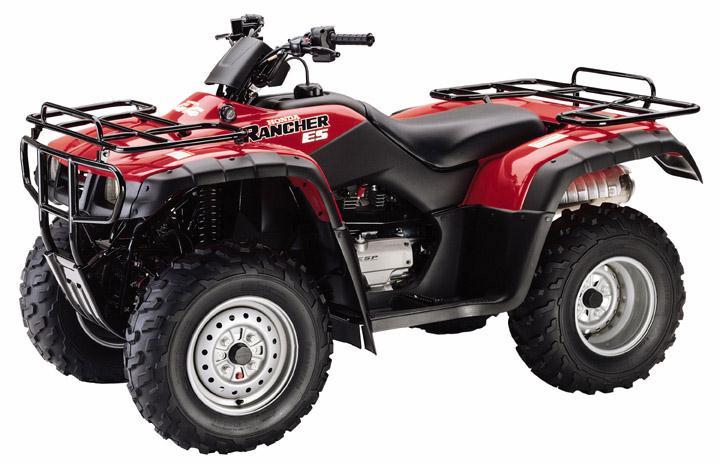 Rancher TRX350 ATV