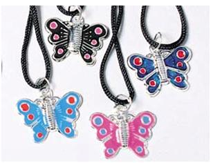 Picture of Recalled Children's Butterfly Necklaces