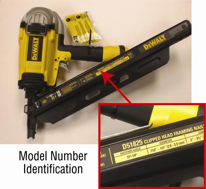 dewalt recalls framing nailers due to serious injury hazard