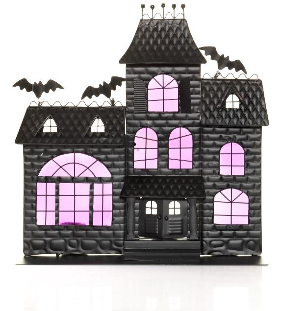 Picture of Recalled Haunted House Screen Tea Light Holder