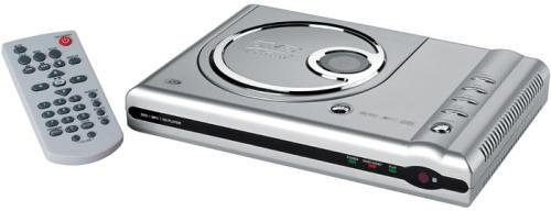 Picture of Recalled DVD Player in Silver