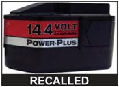 Picture of Recalled NiCd battery pack