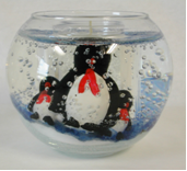 Picture of Round Shape with Penguins, Model #604