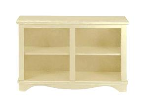Picture of recalled Antique White Low Rider Bookcase