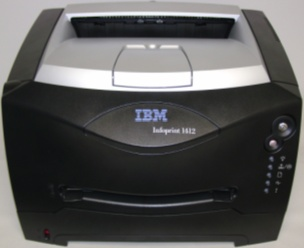 Picture of Recalled IBM Laser Printer