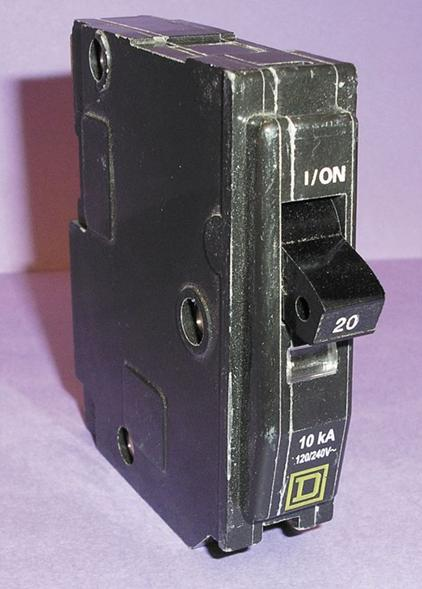 Picture of Geniune Square D Circuit Breaker