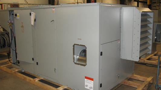 Picture of Recalled Indirect Gas Fired Furnace