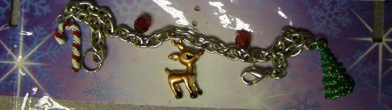 Picture of Recalled Holiday-Themed Charm Bracelet