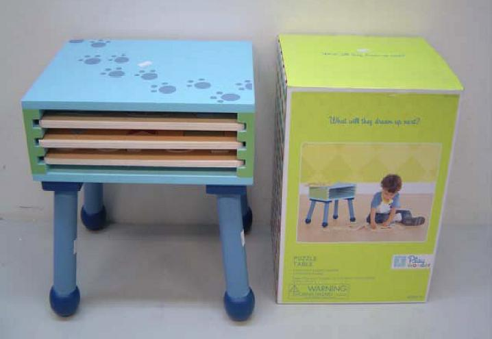 Picture of Recalled Puzzle Table