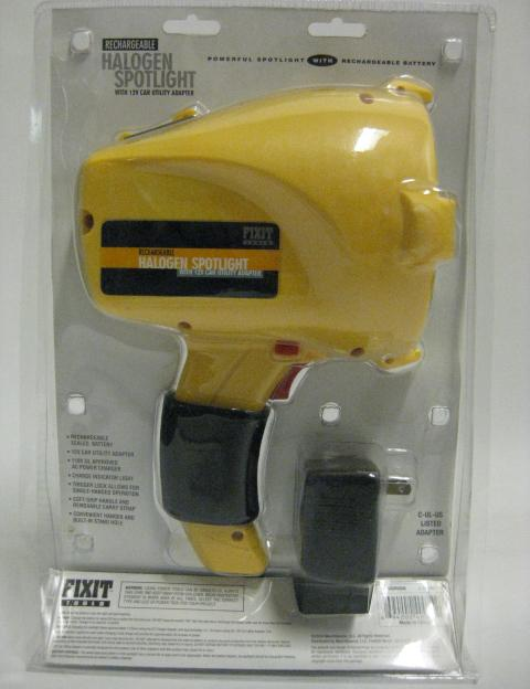 Picture of Recalled Rechargeable Spotlight