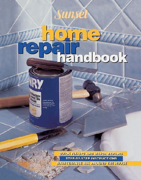 Picture of Recalled Sunset Home Repair Handbook Home Improvement Book