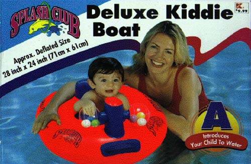 Inflatable Kiddie Boat
