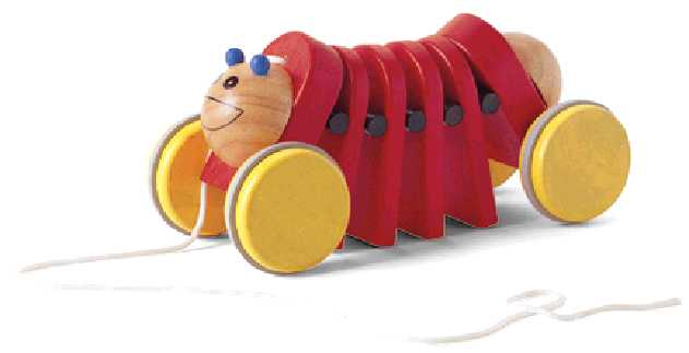 Picture of Recalled Caterpillar Pull Toy
