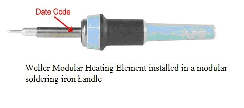 Picture of Recalled Heating Element