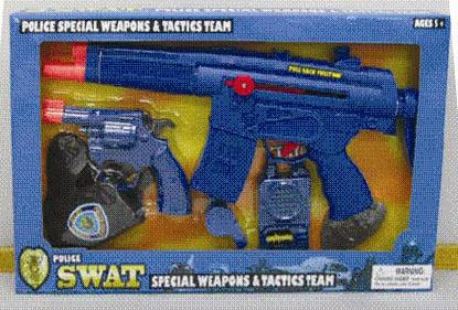 Picture of Recalled SWAT Police Play Special Weapons and Tactics Team Set