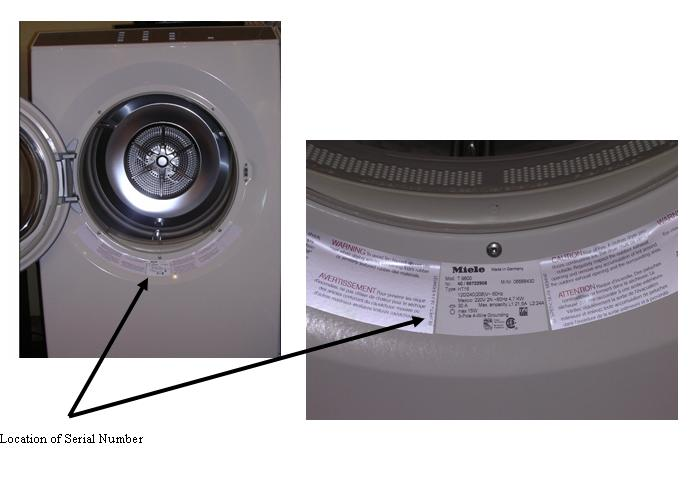 Picture of Recalled Residential Super-large Gas Dryer