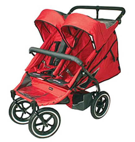 Picture of Recalled Twin Strollers