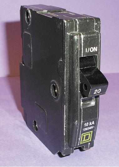 Picture of Recalled Geniune Square D Circuit Breaker