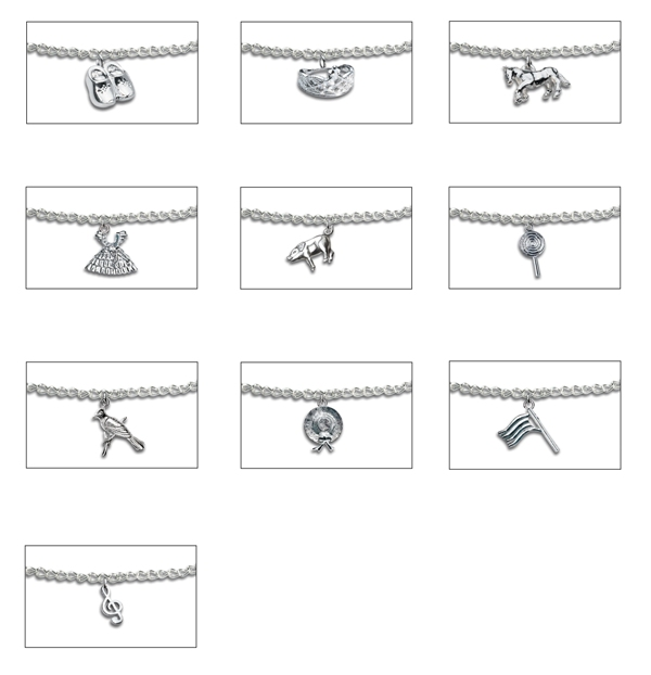 Picture of Recalled Metal Charms