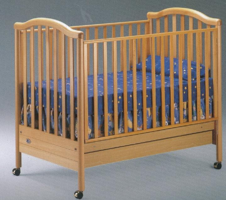 Click For Larger Image of Recalled Alessandra Model Number 180 Crib