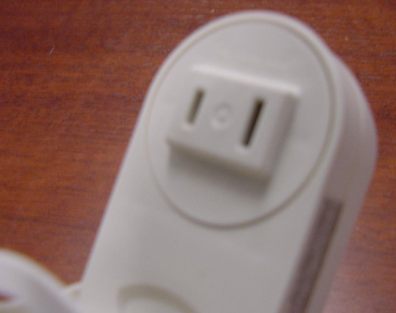 Picture of Recalled Air Freshener plug-through outlet