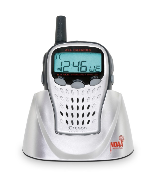 Weather Radios Recalled by Oregon Scientific Due to Failure