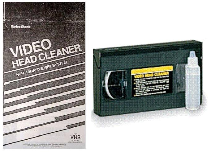 Picture of Recalled Video Head Cleaner
