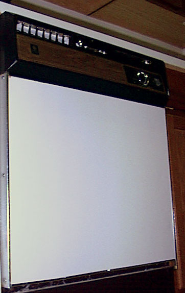 Picture of Recalled Dishwasher