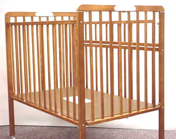 Picture of Recalled Portable Wood Crib
