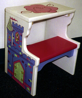 Princess Step Stool