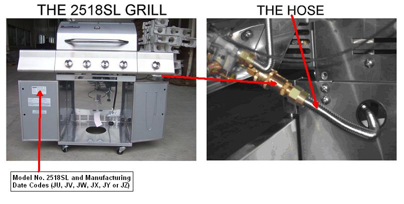grill codes sagittarius sporting goods recalls gas grills sold at lowes