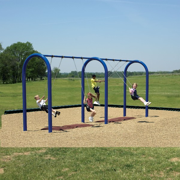 Picture of Recalled Kids Builders Arch Swing Set