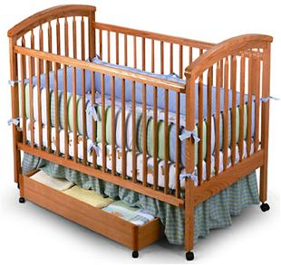 Picture of a Recalled Crib