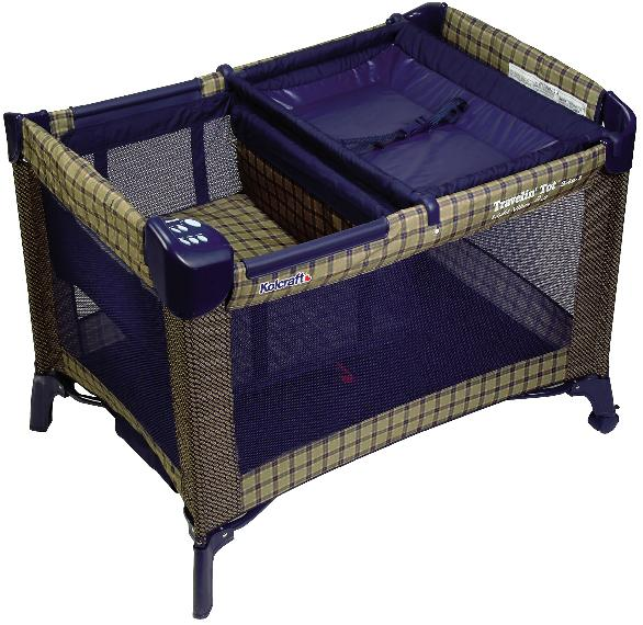 Picture of Recalled Kolcraft Travelin' Tot Play Yard