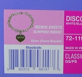 Reebok Recalls Bracelet Linked to Child's Lead Poisoning Deathc