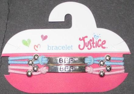 "Picture of Justice ""BFF"" Bracelet Style #5778"