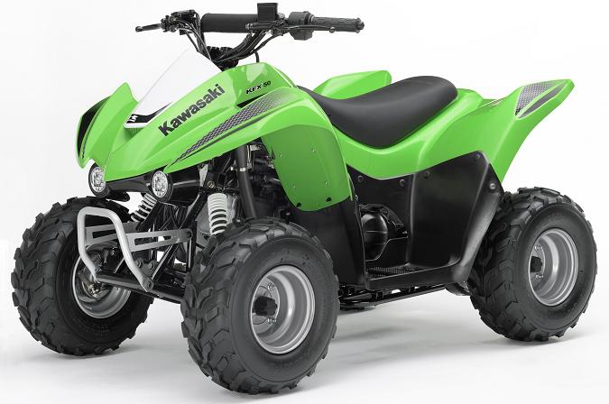 Picture of Recalled KFX50 All-Terrain Vehicle