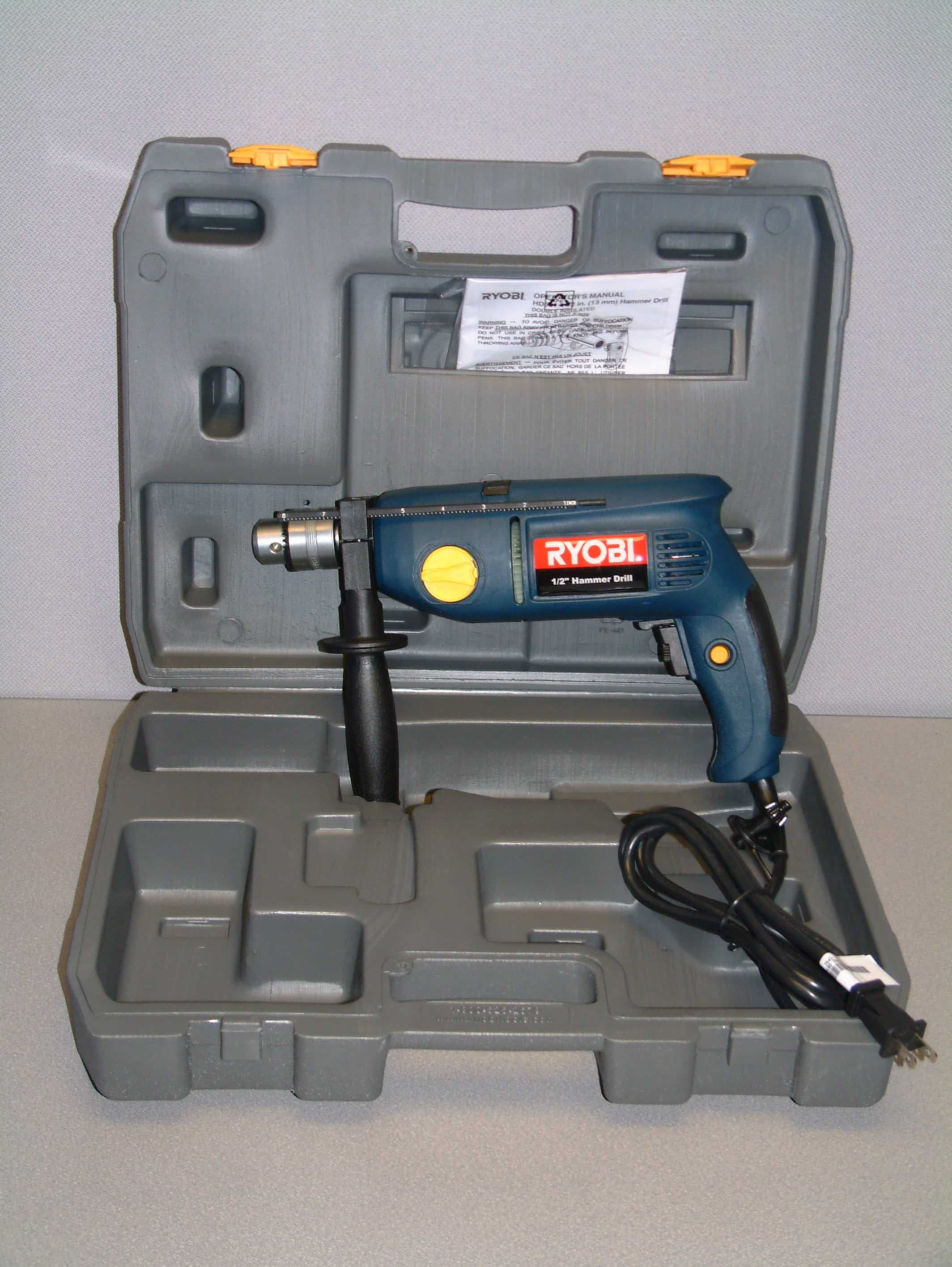 Picture of Recalled Hammer Drill