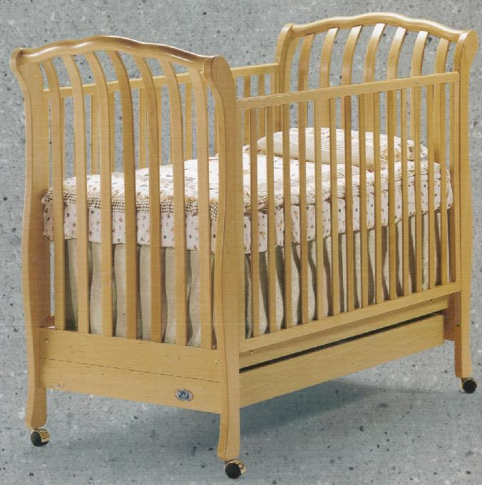 click for larger image of recalled mirabella model number 930 crib - Sorelle Cribs