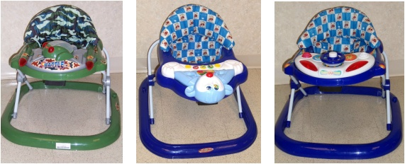 Picture of Recalled Baby Walkers