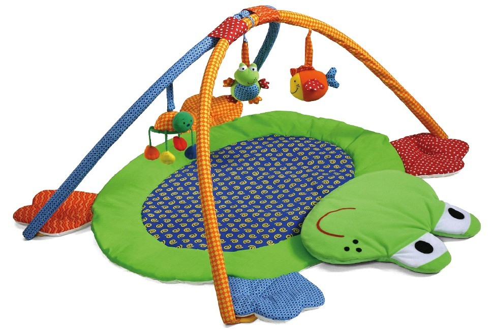 Picture of Recalled Fun Frog Soft Gym Set