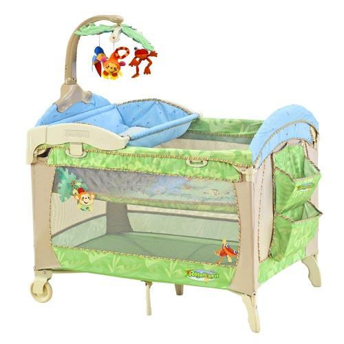 Picture of Recalled Rainforest Portable Play Yard
