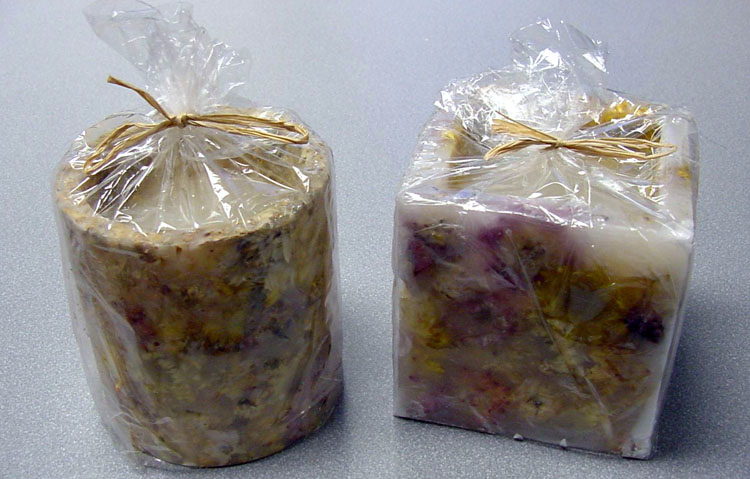 Picture of Recalled Flower Candles