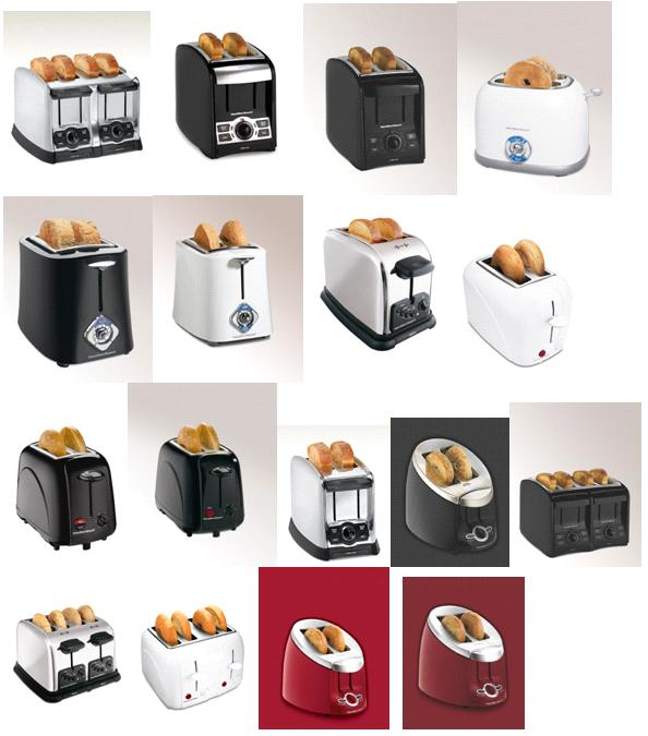 Picture of Recalled Toasters