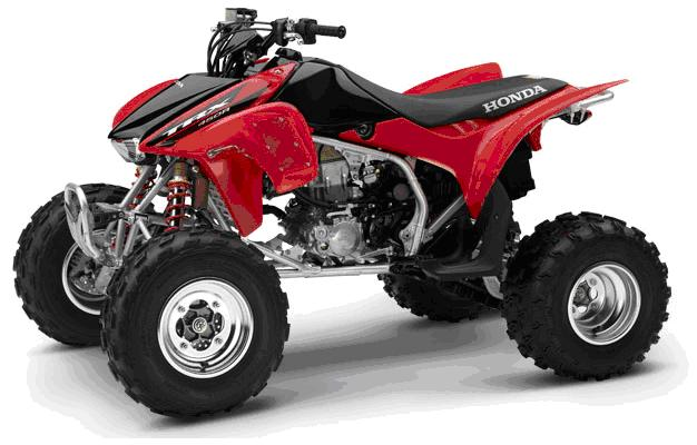 Picture Of Recalled All Terrain Vehicle