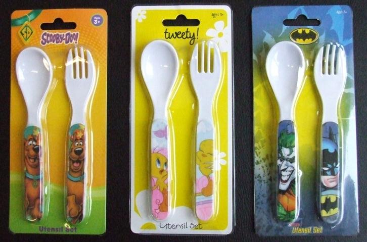 Picture of Recalled Fork and Spoon Sets