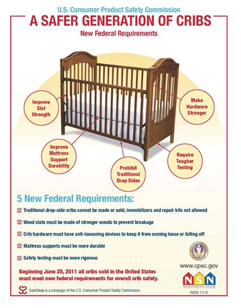 Safer Cribs for Babies Available Starting Today